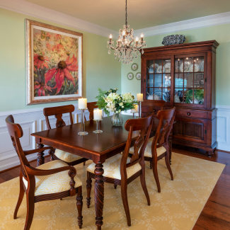 Traditional Dining Room, Richmond